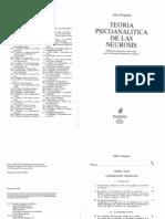 Otto Fenichel Teoria Psicoanalitica de Las Neurosis