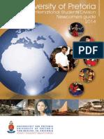 University of Pretoria International Students Guide 2014