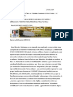 Psic. Ildefonso Valdez Leyva Breve Introduccion a La Terapia Familiar Estructural de Salvador Minuchin