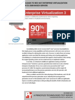 Migrating server workloads to Red Hat Enterprise Virtualization on Intel Xeon processor E5-2600-based servers