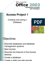access project 1