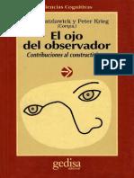 El Ojo Del Observador = Paul Watzlawick & Peter Krieg - Gedisa