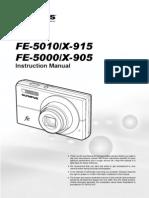 FE-5010 X-915 FE-5000 X-905 Instruction Manual En