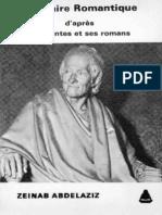 Voltaire Romantique - d'apres ses contest et ses romans - Prof Dr zeinab Abdelaziz - 1980