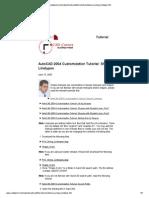 AutoCAD Customization Tutorial - Shape Linetype