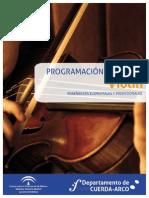 Programacion de Violin