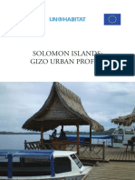 Solomon Islands - Gizo Urban Profile
