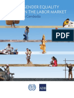 Gender Equality in the Labor Market in Cambodia