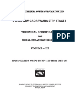 3. Technical Specification 2x800 Mw Gadarwara Stpp_me Bellows