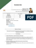 AR.aditya Resume