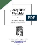 Acceptable Worship 500
