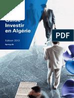 Guide investir en Algérie 2013