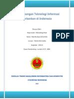 Perkembangan Teknologi Informasi Perbankan Di Indonesia