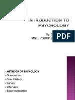 Intro to psycho