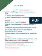 DHA Prometric 02-01-2014