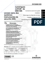 Controleurs de Vannes Fieldvue Utilises Sur Systemes Instrumentes de Securite(SIS)