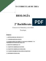 PROYECTO CURRICULAR DE ÁREA BIOLOGIA