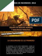 Equipo de Seguridad Forestal 2014