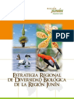 Estrategia Regional Diversidad Biologica Junin