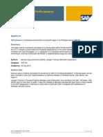 SAP on Hyper-V Performance Considerations