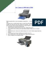 Cara Reset Printer Canon Ix 4000 Dan Ix 5000