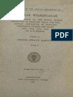 Plantae Wilsonianae