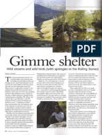 Fix habitat. Article for Wild Trout Trust journal - March 2014
