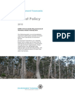 Environment Tasmania – Forest Policy