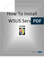 How to Install WSUS Server