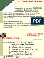 AUTOMATAS FINITOS