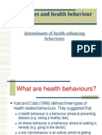 Lifestyles and Health Behaviour-1