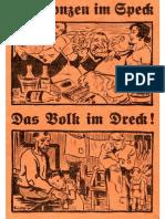 ArendtPaul DieBonzenImSpeck DasVolkImDreck193128S.scanFraktur