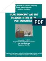 Islam Democracy and the Secularist State - CSID