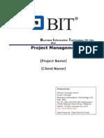 137200427 1 Project Management Plan