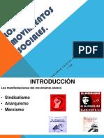 4 3 - los movimientos sociales