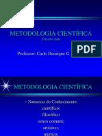 METODOLOGIA CIENTÍFICA - EXTRA