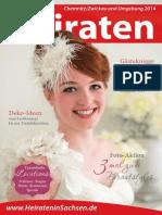 Ausgabe Heiraten in Chemnitz - 2014