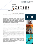 press release - a tale of 3 cities