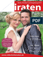 Ausgabe Heiraten in Berlin - 2014