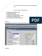 Form Peronalizatio  6 - Calling Destination Form From Source Form With Parameter
