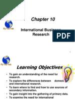 International Busienss Research