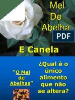 Mel de Abelha & Canela