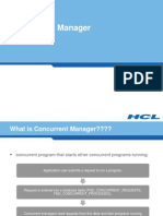 Concurrent Manager