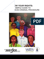 Know Your Rights Booklet