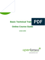 Course Guide Basic Technical Training Online