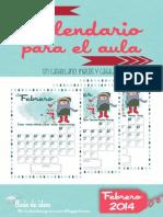 calendario febrero