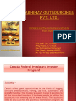 Canada Federal Immigrant Investor Program