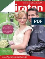 Ausgabe Heiraten in Dresden - Magazin 2014