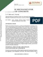 Fracture Mechanics for Failure of Concrete