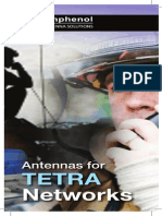 Antennas for TETRA Networks
